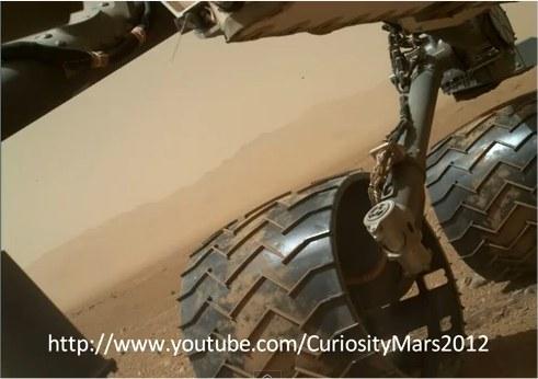 Mars: Curiosity témoin d'un nouvel ovni.