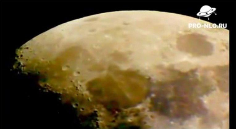 Encore des ovnis sur la lune