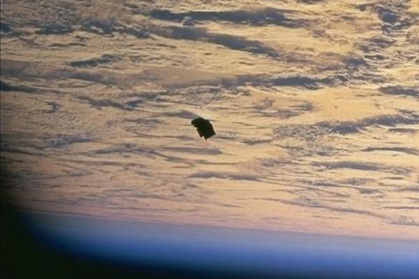 D'autres photos secrètes d'ovnis de la NASA 2