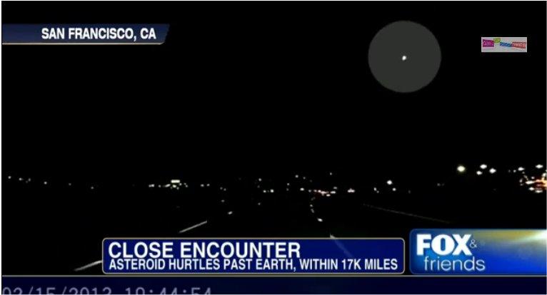 Des météorites ou en Californie?