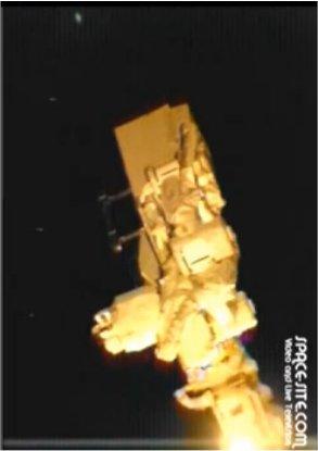Une flotte d'ovnis près de l'ISS