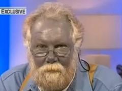 """L'homme """"bleu"""" est décédé"""