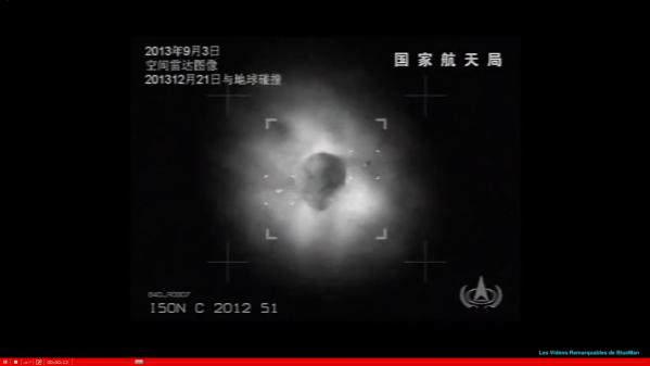 la comète Ison est accompagnée par 2 objets tout à fait curieux