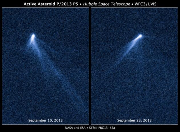 P/2013 P5: un astéroïde bizarre impréssionne les scientifiques
