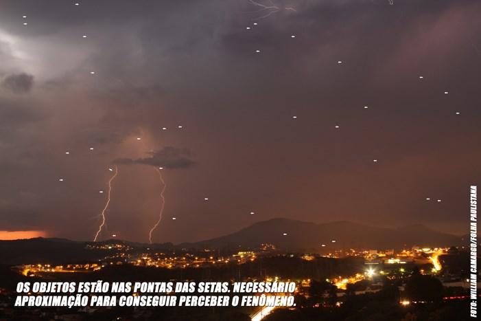 Intrigante photographie capturée à Santana de Parnaíba