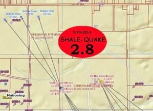 Des tremblements de terre ressentis en Ohio liés à l'extraction du gaz de schiste