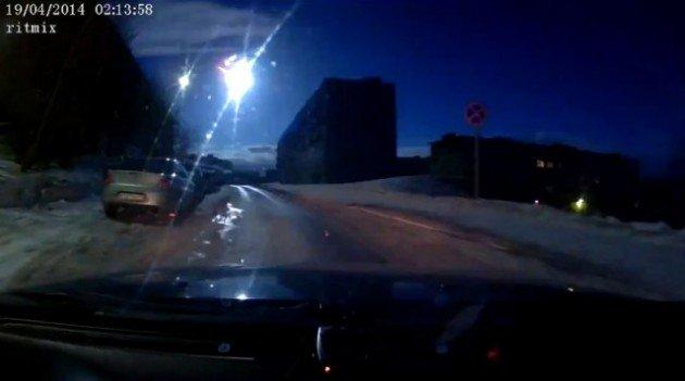 Un autre météore explose au dessus de la Russie
