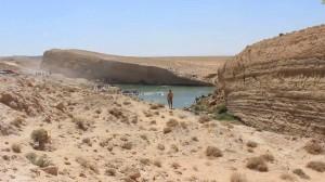 Bizarre, un immense lac apparaît en plein désert tunisien