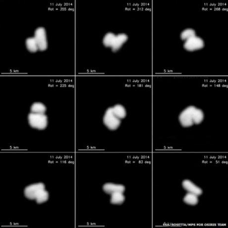 Rosetta : le noyau de sa comète est double !