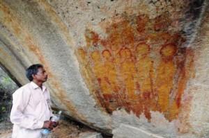 Chhattisgarh: des peintures rupestres de 10 000 ans représentant ovnis et extraterrestres