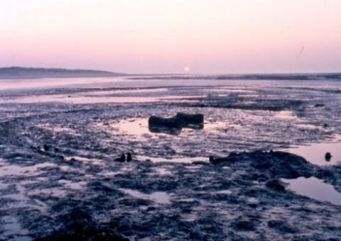 Le second cercle à Holme Beach, qui serait lié au Seahenge son les scientifiques.