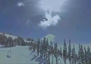Un OVNI apparaît dans Google Street au-dessus du Mont Shasta, USA