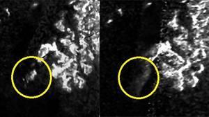 Une masse mystérieuse joue à cache-cache sur Titan, la lune de Saturne