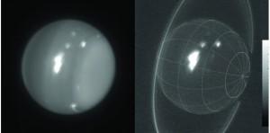 Les monstrueuses tempêtes sur Uranus démontrent l'influence de la planéte X