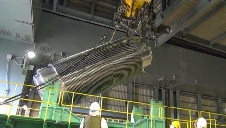 Fukushima: il n'y a plus de combustible usé dans le réacteur 4