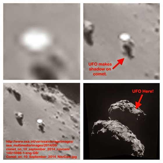 L'ESA confirme que la Comète 67P Transmet des signaux radio.