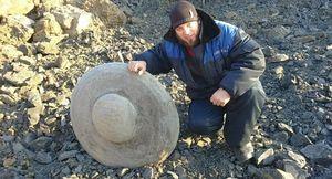 Une étrange pierre circulaire découverte en Sibérie