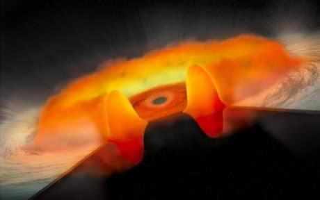 La NASA découvre des trous noirs étonnamment gourmands