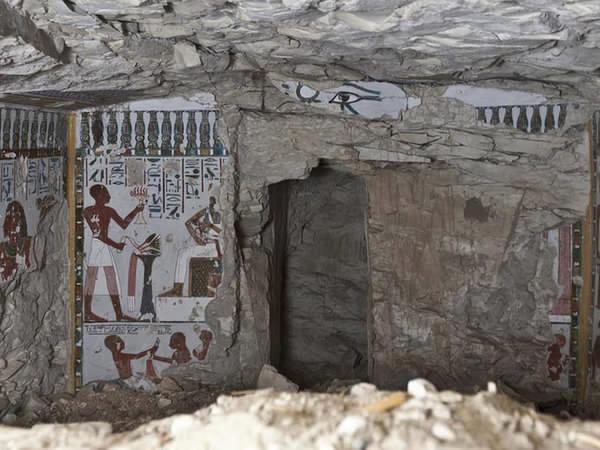 Egypte: Sublime découverte d'une tombe pharaonique à Louxor