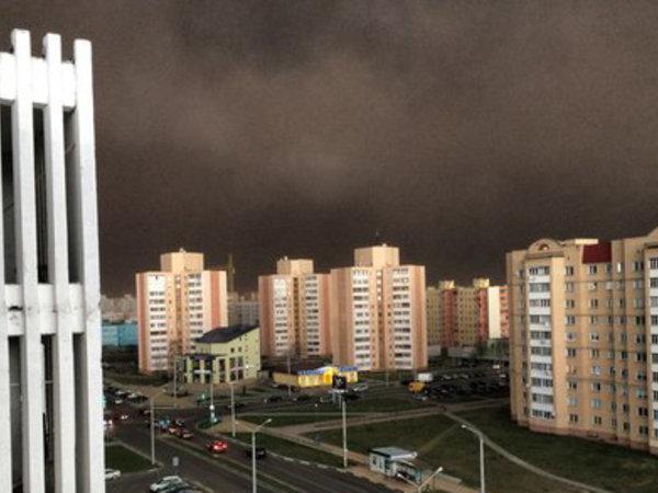 Une tempête de sable... en Ukraine !
