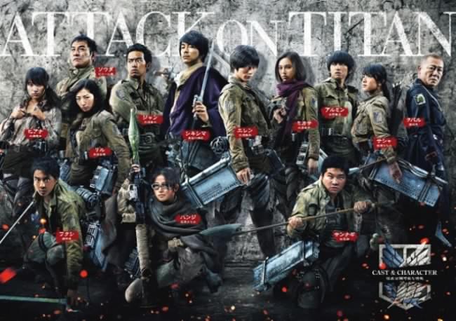 Attack on Titan: un trailer époustouflant pour film L'Attaque des Titans