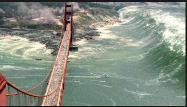 Alerte : 9,2 Méga Séisme Imminent; La FEMA met en garde qu'un tsunami de 30 mètres de haut touchera la côte Ouest
