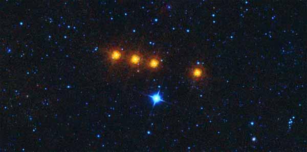 La NASA a détecté un mystérieux groupe de 4 astéroïdes