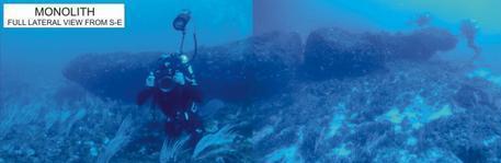 Méditerranée: Découverte d'un monolithe géant vieux de 10 000 ans !