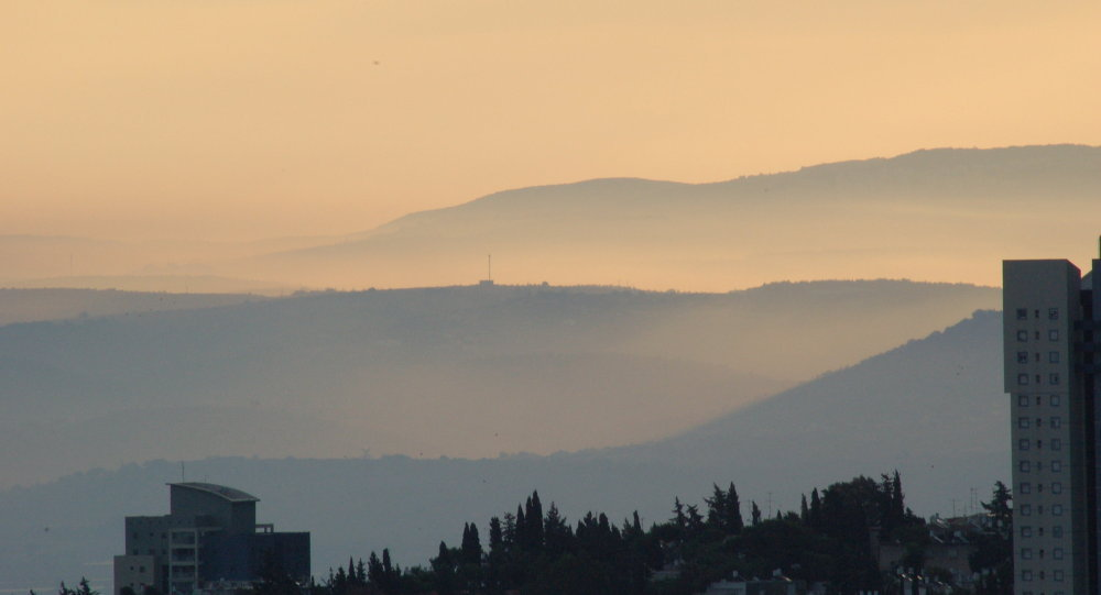 Une étrange tempête de sable toxique s'abat sur Israël