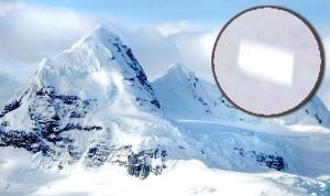 Une mystérieuse structure de 20km de long 'enterrée' en Antarctique découverte via Google Earth