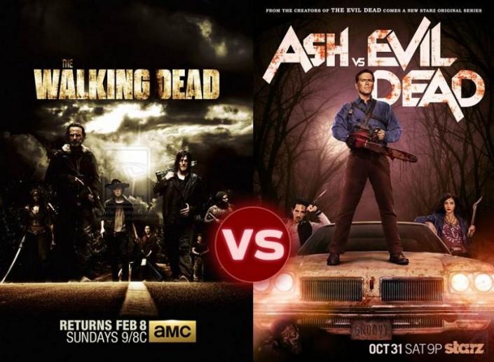 ASH VS THE WALKING DEAD: L'IMPROPABLE CROSSOVER EVIL DEAD ET THE WALKING DEAD