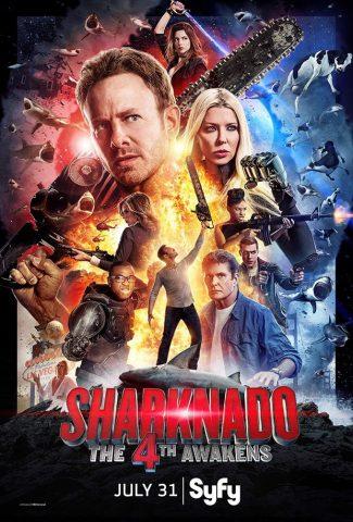 Sharknado: The 4th Awakens est diffusé le 31 juillet sur Syfy et Space