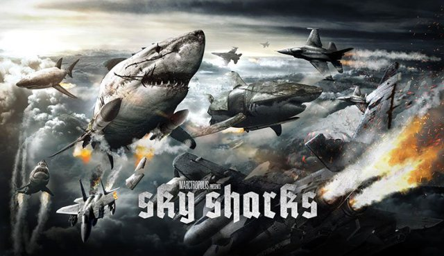 SKY SHARKS: NAZIS ZOMBIES ET REQUINS VOLANTS WTF??!!