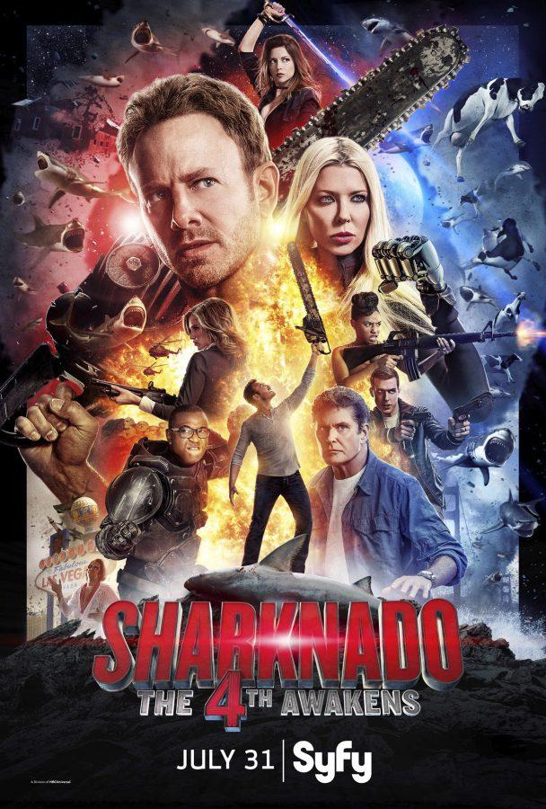 SHARKNADO 4: THE 4TH AWAKENS: UNE BANDE-ANNONCE DÉLIRANTE!