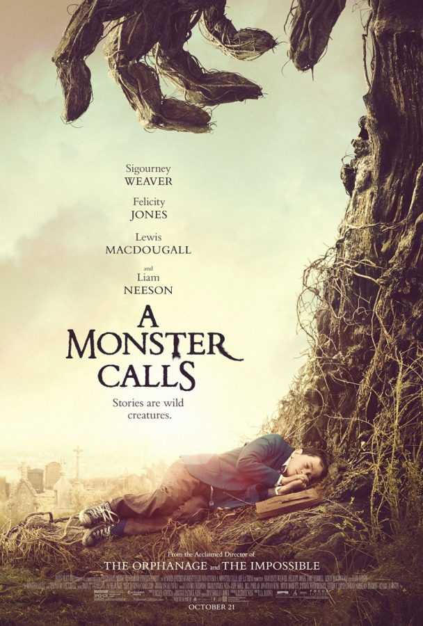A MONSTER CALLS: UN TRAILER AVEC LIAM NEESON ET FELICITY JONES