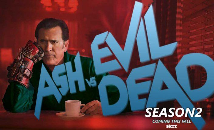 ASH VS EVIL DEAD SAISON 2: UNE BANDE ANNONCE «RED BAND»