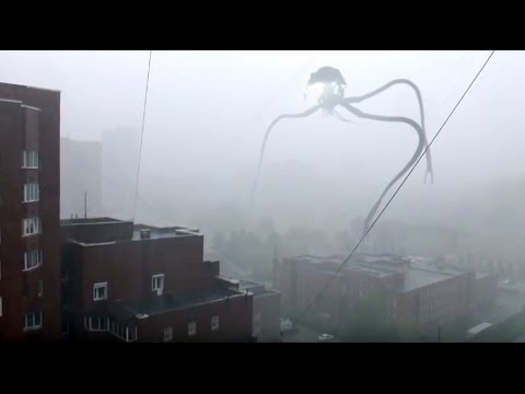 L'invasion d'extraterrestres à Novosibirsk