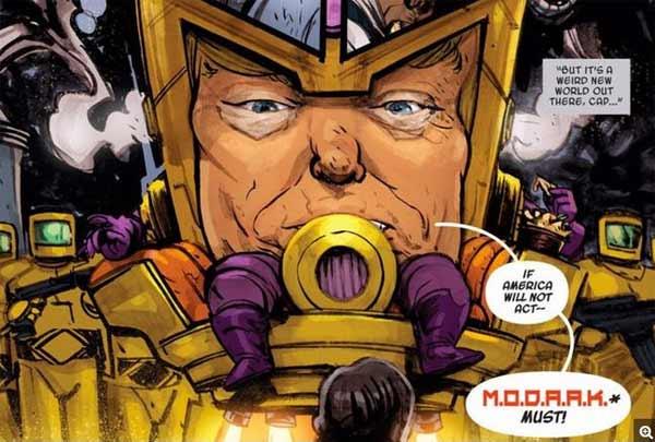 Marvel s'inspire de Donald Trump pour créer un super-vilain