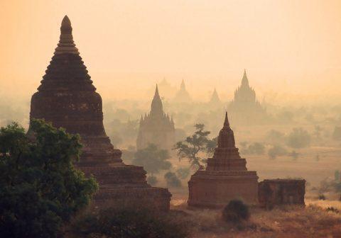 Site de Bagan en 1999