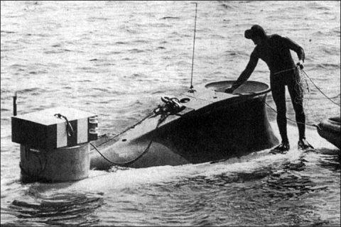 En 1977, deux chercheurs nommés V Alexandrov et G Seliverstov, étaient dans un submersible à une profondeur de 1200 mètres dans le lac et ont observé des lumières étranges.