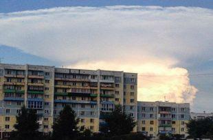 Sibérie: un nuage colossal en forme de champignon atomique crée la panique