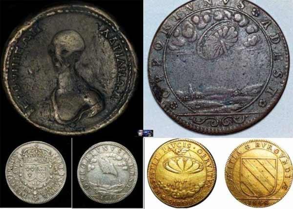 Une mystérieuse pièce de monnaie d'origine inconnue