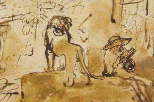 Ce croquis attribué à un peintre mineur était un authentique Rembrandt!