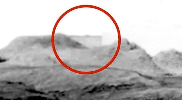 Un bâtiment extraterrestre repéré dans des photos du rover de la NASA sur Mars