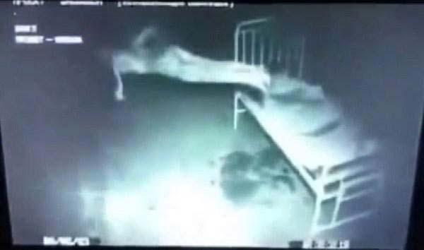 Un homme Russe filmé en train de léviter. Possession démoniaque ?