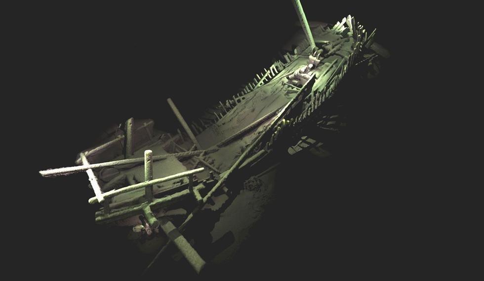Mer Noire: Superbe découverte d'un cimetière de 40 navires ottomans et de Bizance
