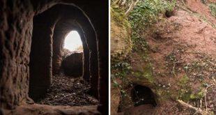 Ce terrier de lapin mène directement à un réseau de caves secrètes appartenant aux templiers vieilles de 700 Ans