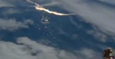 Des ondes lumineuses très étranges repérées depuis l'ISS (vidéo)
