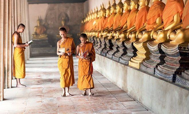 Des peintures bouddhistes vieilles de 1.000 ans découvertes au Tibet