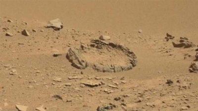 Un étrange « cercle de pierre extraterrestre » repéré sur Mars
